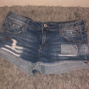 Denim Shorts with cute detailing